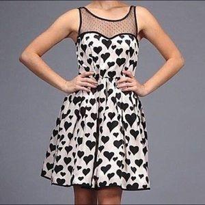 ModCloth Minuet Hearts A Flutter Dress